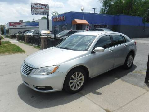 2012 Chrysler 200 for sale at City Motors Auto Sale LLC in Redford MI