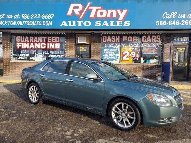 2009 Chevrolet Malibu for sale at R Tony Auto Sales in Clinton Township MI