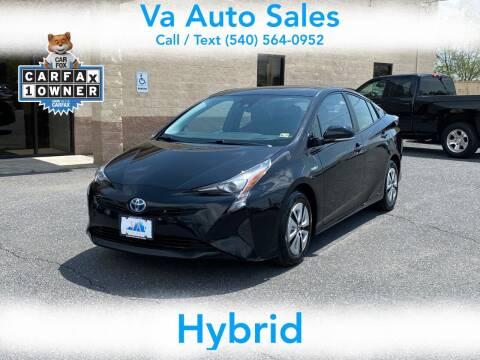 2016 Toyota Prius for sale at Va Auto Sales in Harrisonburg VA