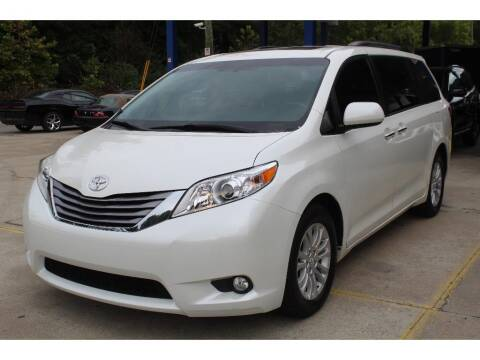 2017 Toyota Sienna for sale at Inline Auto Sales in Fuquay Varina NC