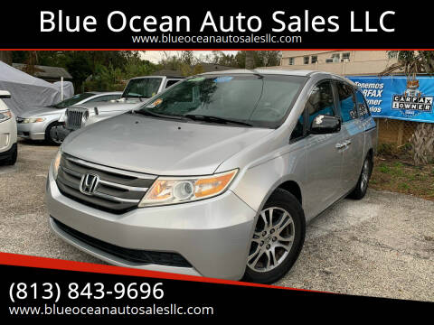 2011 Honda Odyssey for sale at Blue Ocean Auto Sales LLC in Tampa FL