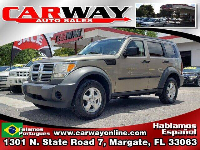 2007 Dodge Nitro for sale at CARWAY Auto Sales in Margate FL
