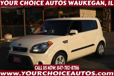 2012 Kia Soul for sale at Your Choice Autos - Waukegan in Waukegan IL