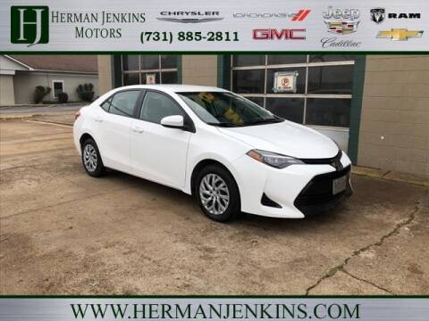 2017 Toyota Corolla for sale at Herman Jenkins Used Cars in Union City TN
