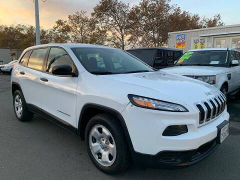 2014 Jeep Cherokee for sale at Black Diamond Auto Sales Inc. in Rancho Cordova CA