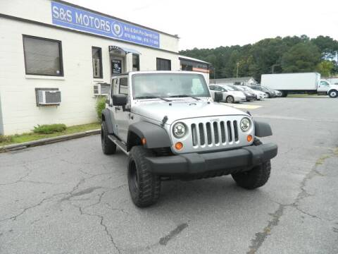 2008 Jeep Wrangler Unlimited for sale at S & S Motors in Marietta GA