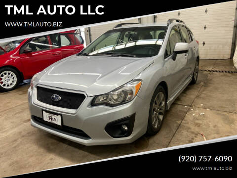 2014 Subaru Impreza for sale at TML AUTO LLC in Appleton WI