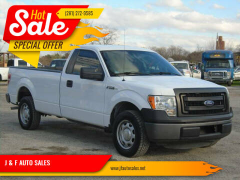 2014 Ford F-150 for sale at J & F AUTO SALES in Houston TX