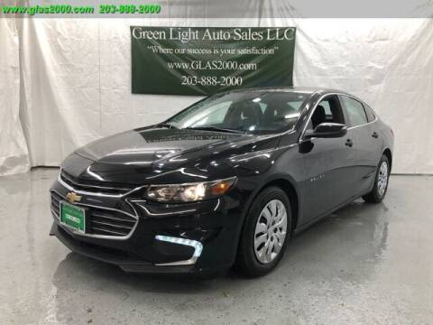 2018 Chevrolet Malibu for sale at Green Light Auto Sales LLC in Bethany CT