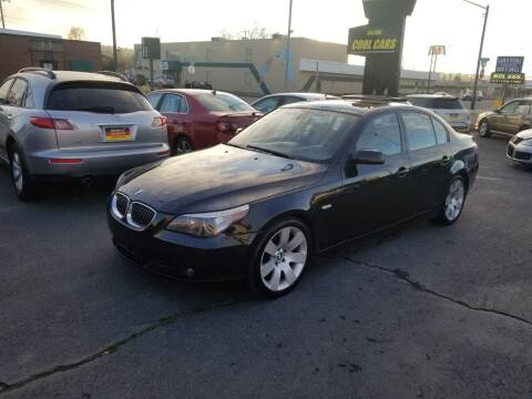 2007 BMW 5 Series for sale at Cool Cars LLC in Spokane WA