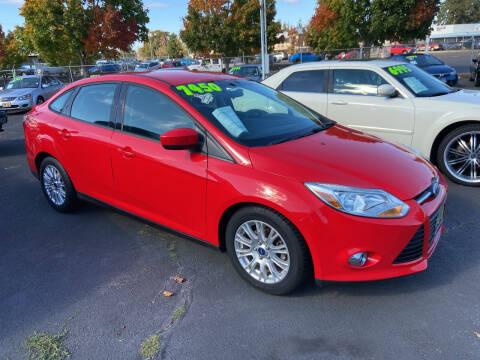 2012 Ford Focus for sale at Pacific Point Auto Sales in Lakewood WA