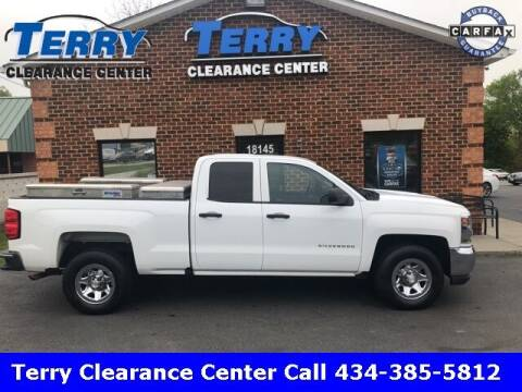 2016 Chevrolet Silverado 1500 for sale at Terry Clearance Center in Lynchburg VA