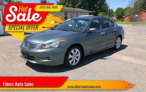 2010 Honda Accord for sale at Elders Auto Sales in Pine Bluff AR