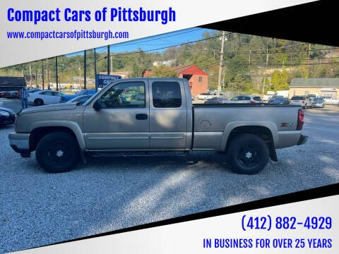 2006 Chevrolet Silverado 1500 for sale at Compact Cars of Pittsburgh in Pittsburgh PA
