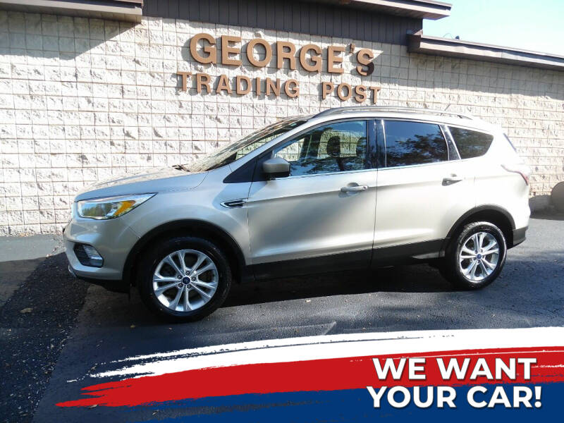 2018 Ford Escape for sale at GEORGE'S TRADING POST in Scottdale PA
