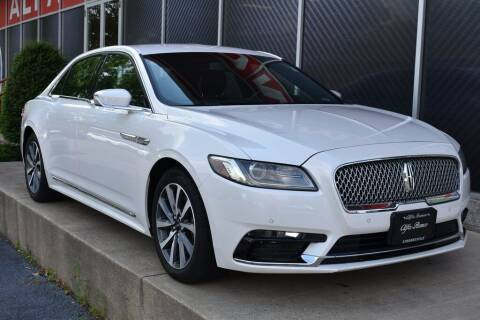 2017 Lincoln Continental for sale at Alfa Romeo & Fiat of Strongsville in Strongsville OH