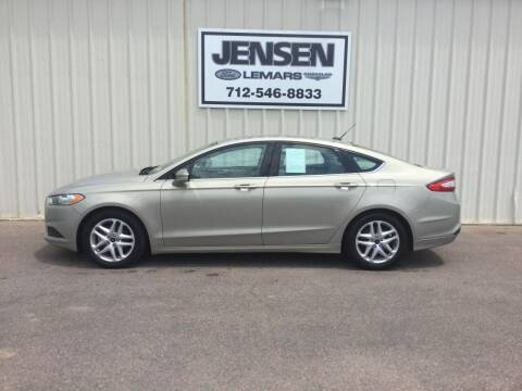 2015 Ford Fusion for sale at Jensen's Dealerships in Sioux City IA