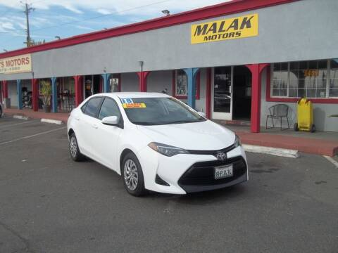 2018 Toyota Corolla for sale at Atayas Motors INC #1 in Sacramento CA