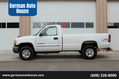 2004 GMC Sierra 2500HD for sale at German Auto House in Fitchburg WI