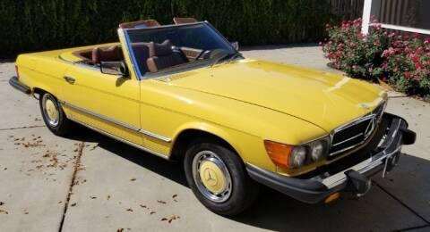 1976 Mercedes-Benz 450 SL for sale at Classic Car Deals in Cadillac MI