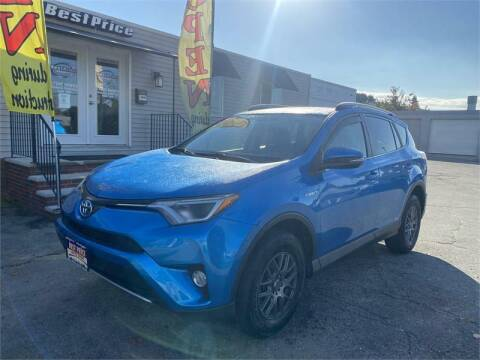 2016 Toyota RAV4 Hybrid for sale at Best Price Auto Sales in Methuen MA