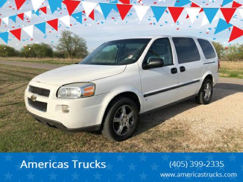 2007 Chevrolet Uplander for sale at Americas Trucks in Jones OK