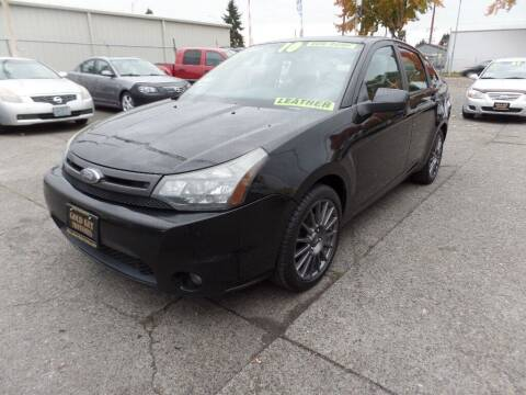 2010 Ford Focus for sale at Gold Key Motors in Centralia WA