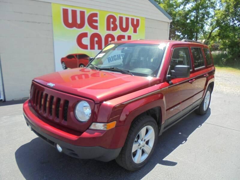2015 Jeep Patriot for sale at Right Price Auto Sales in Murfreesboro TN