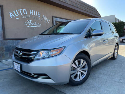 2015 Honda Odyssey for sale at Auto Hub, Inc. in Anaheim CA