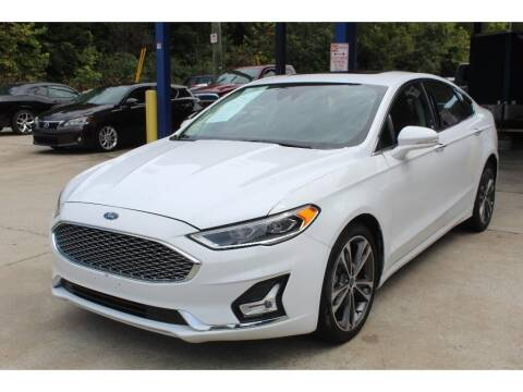 2019 Ford Fusion for sale at Inline Auto Sales in Fuquay Varina NC