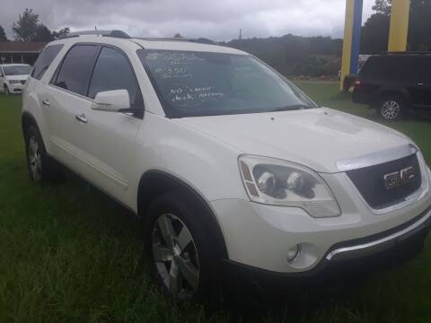 2011 GMC Acadia for sale at CARZ4YOU.com in Robertsdale AL