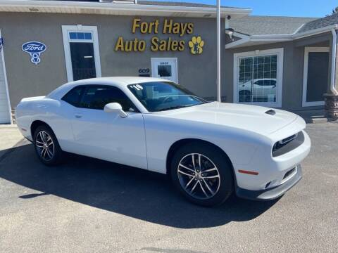 2019 Dodge Challenger for sale at Fort Hays Auto Sales in Hays KS