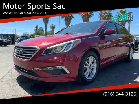 2015 Hyundai Sonata for sale at Motor Sports Sac in Sacramento CA