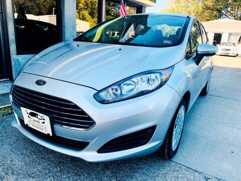 2014 Ford Fiesta for sale at Auto Space LLC in Norfolk VA