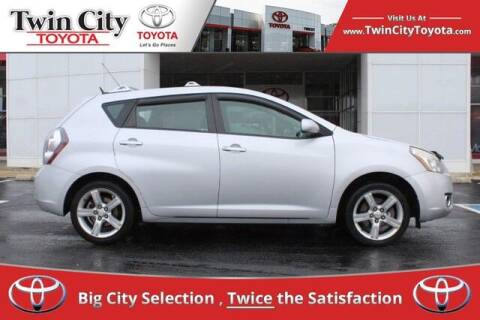 2009 Pontiac Vibe for sale at Twin City Toyota in Herculaneum MO
