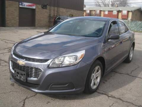 2014 Chevrolet Malibu for sale at ELITE AUTOMOTIVE in Euclid OH
