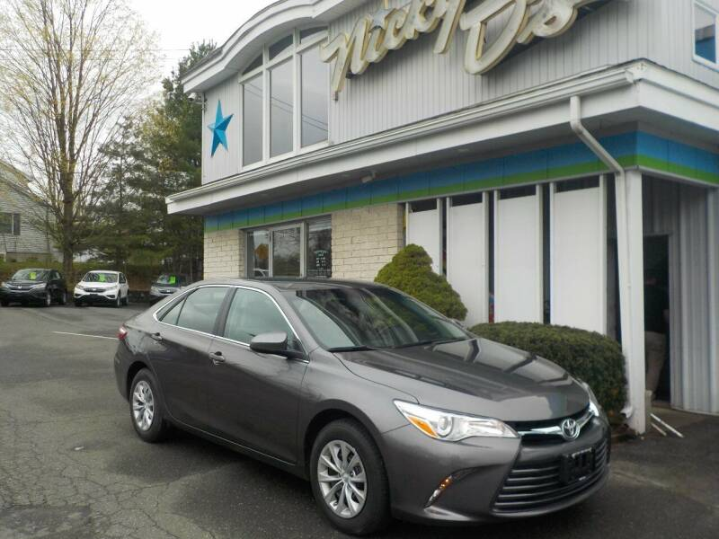 2016 Toyota Camry for sale at Nicky D's in Easthampton MA