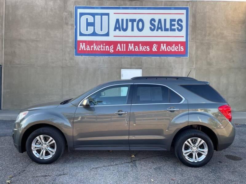 2013 Chevrolet Equinox for sale at C U Auto Sales in Albuquerque NM