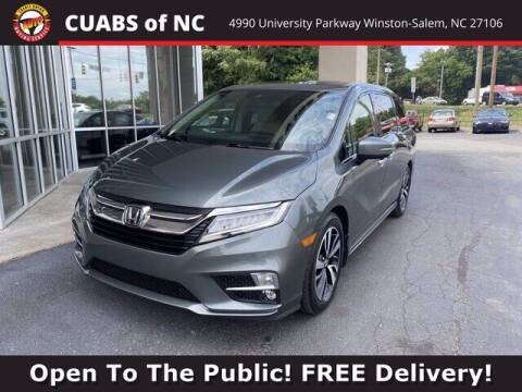 2019 Honda Odyssey for sale at Credit Union Auto Buying Service in Winston Salem NC