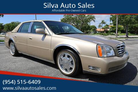2005 Cadillac DeVille for sale at Silva Auto Sales in Pompano Beach FL