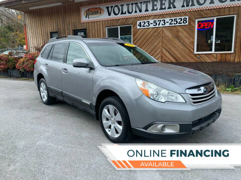 2010 Subaru Outback for sale at Kerwin's Volunteer Motors in Bristol TN