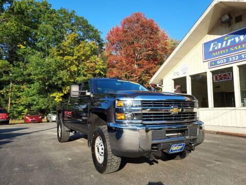 2016 Chevrolet Silverado 2500HD for sale at Fairway Auto Sales in Rochester NH