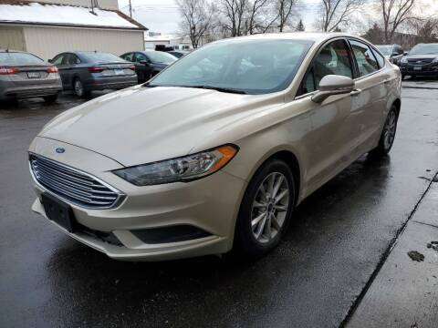 2017 Ford Fusion for sale at MIDWEST CAR SEARCH in Fridley MN