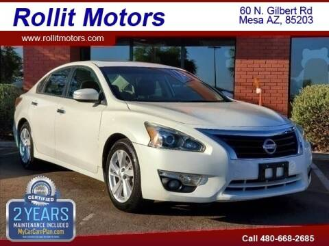 2015 Nissan Altima for sale at Rollit Motors in Mesa AZ
