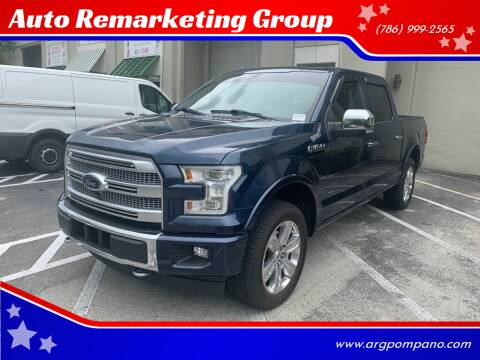 2016 Ford F-150 for sale at Auto Remarketing Group in Pompano Beach FL