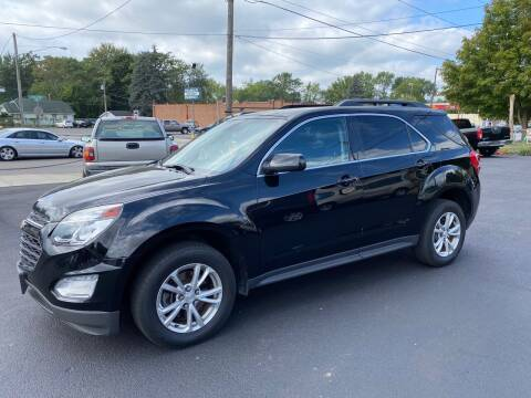 2017 Chevrolet Equinox for sale at E & A Auto Sales in Warren OH