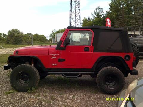 2001 Jeep Wrangler for sale at Highway 16 Auto Sales in Ixonia WI
