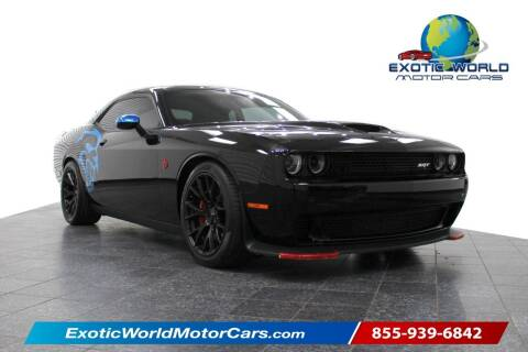 2016 Dodge Challenger for sale at Exotic World Motor Cars in Addison TX