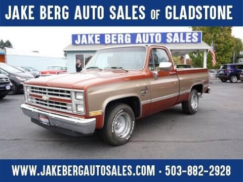 1987 Chevrolet R/V 10 Series for sale at Jake Berg Auto Sales in Gladstone OR