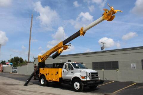2008 Ford F-750 Super Duty for sale at Truck and Van Outlet in Miami FL